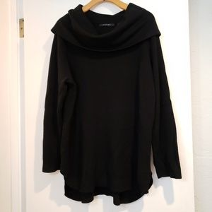 Cyrus Black Scoop Neck Sweater 2X